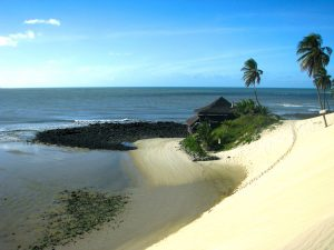 Brazilien Strand Haus