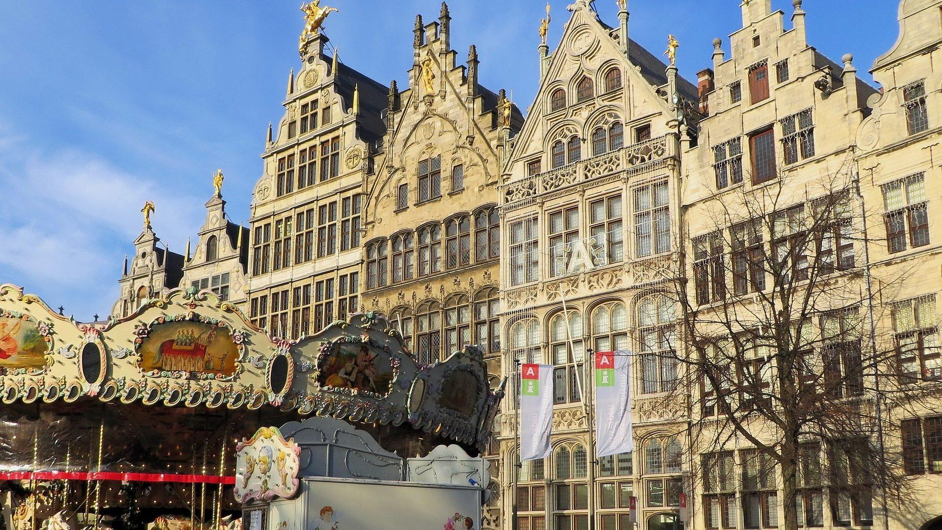 Flug nach Antwerpen