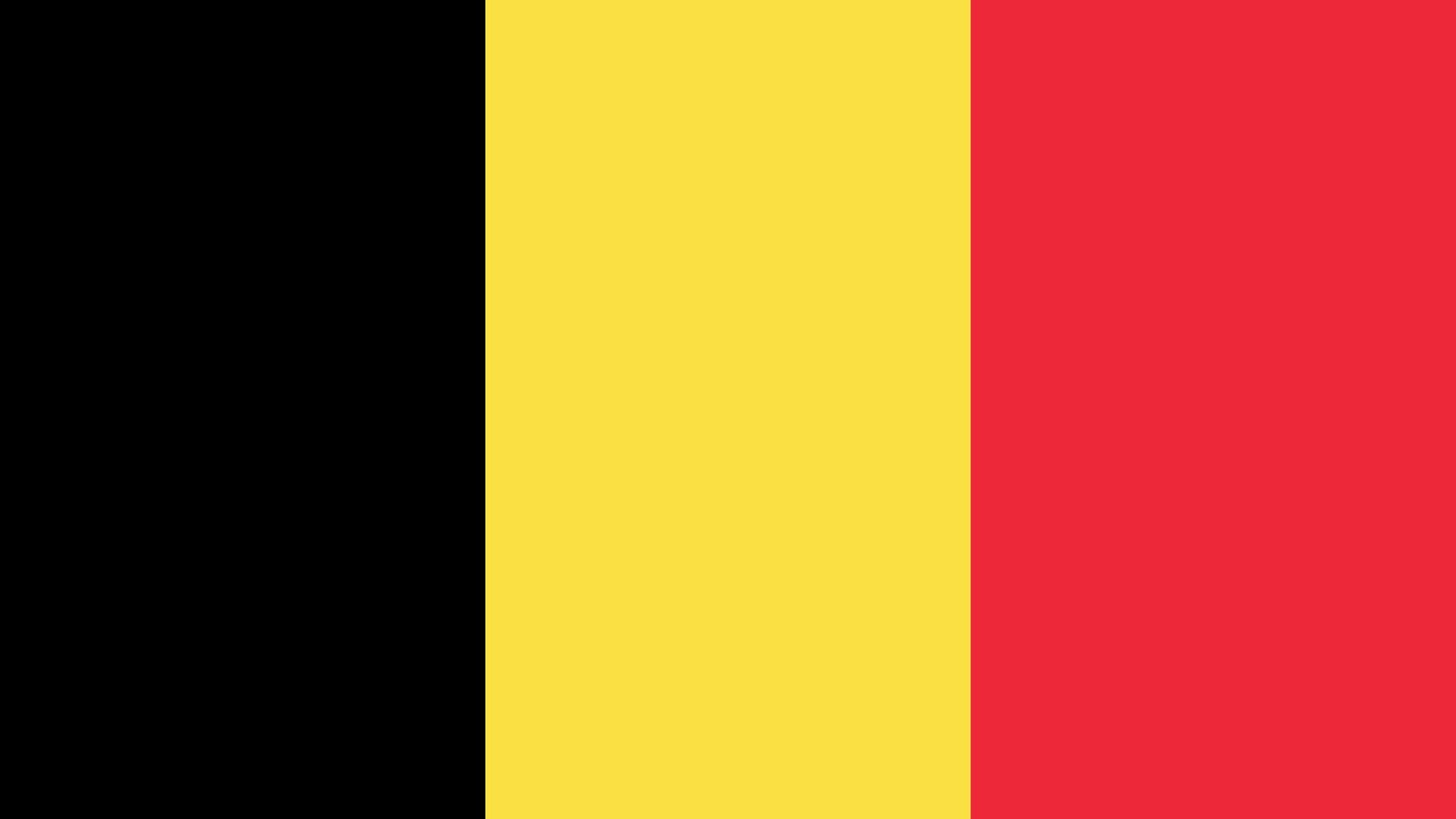 Flug nach Belgien