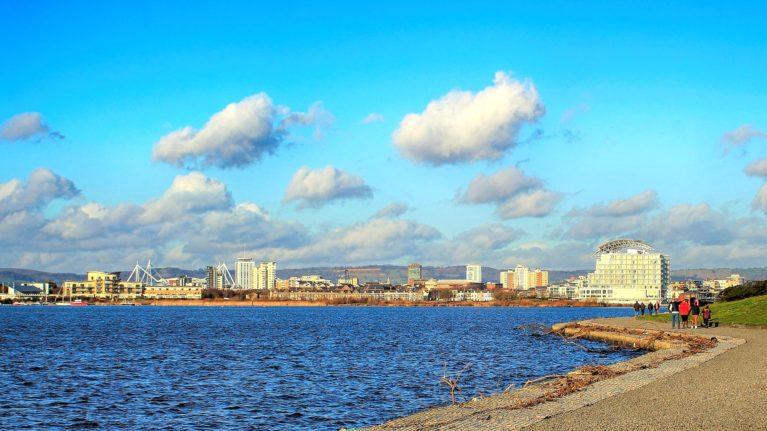 Bucht von Cardiff