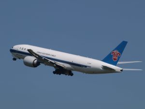 Abflug der China Southern Airlines