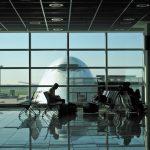 Wartelounge im Flughafen