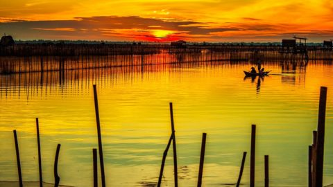Hue Sonnenaufgang