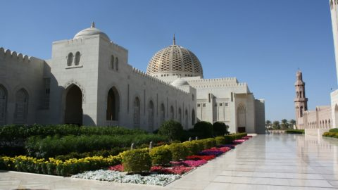 Oman Maskat Große Moschee