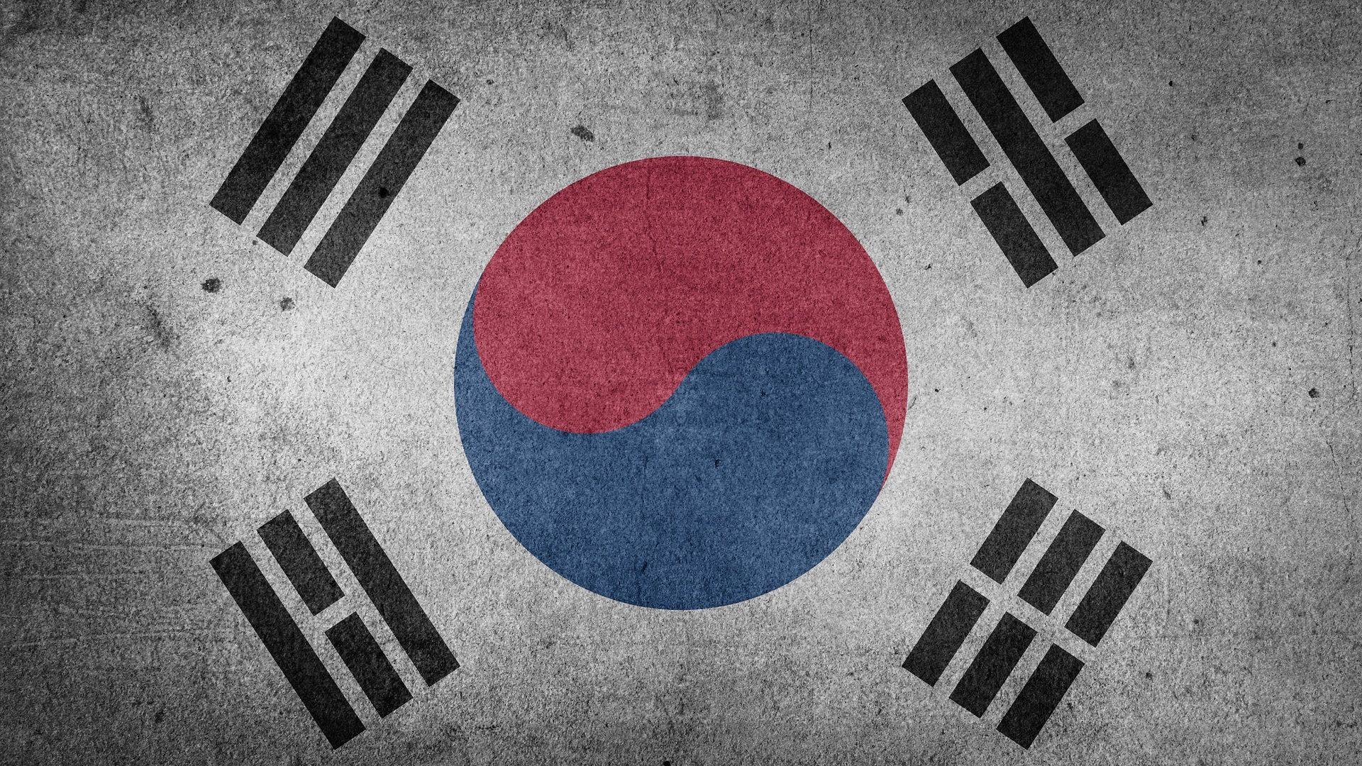 Flug nach Südkorea