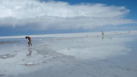Salzwüste Uyuni Bolivien