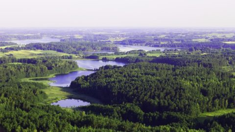 Litauen Seenlandschaft