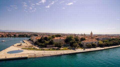 Sonnengruß und Meeresorgel Zadar