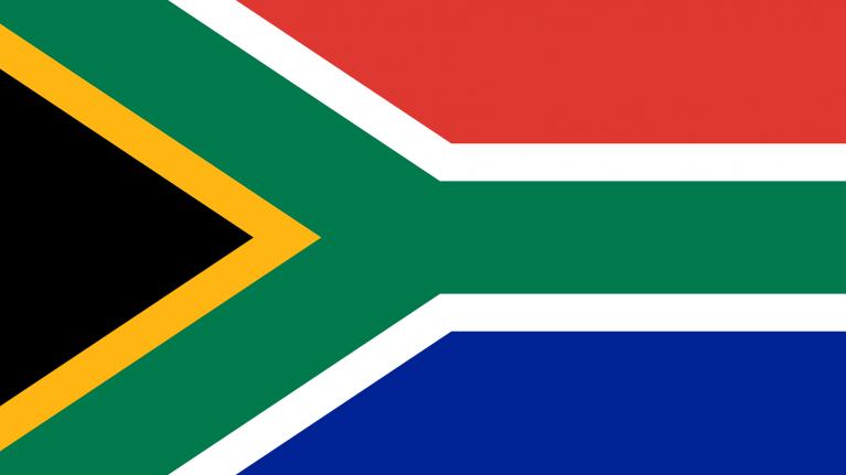 Flagge, Südafrika