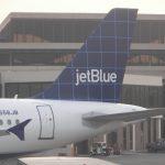Maschine der Billigfluggesellschaft JetBlue