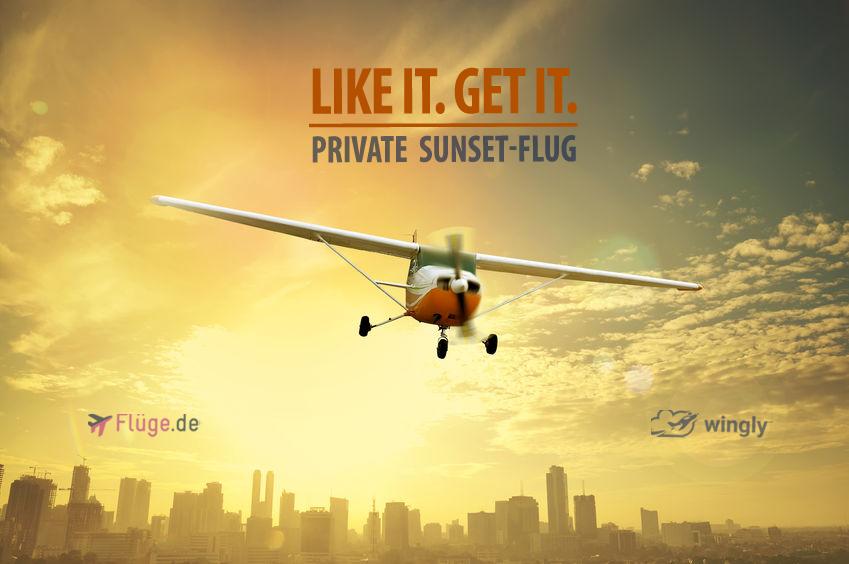 Sunset-Flug Gewinnspiel