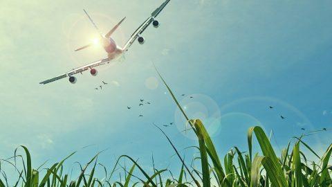 Flugzeug stärkste Luftfahrt