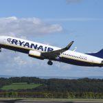 Maschine der Fluggesellschaft Ryanair