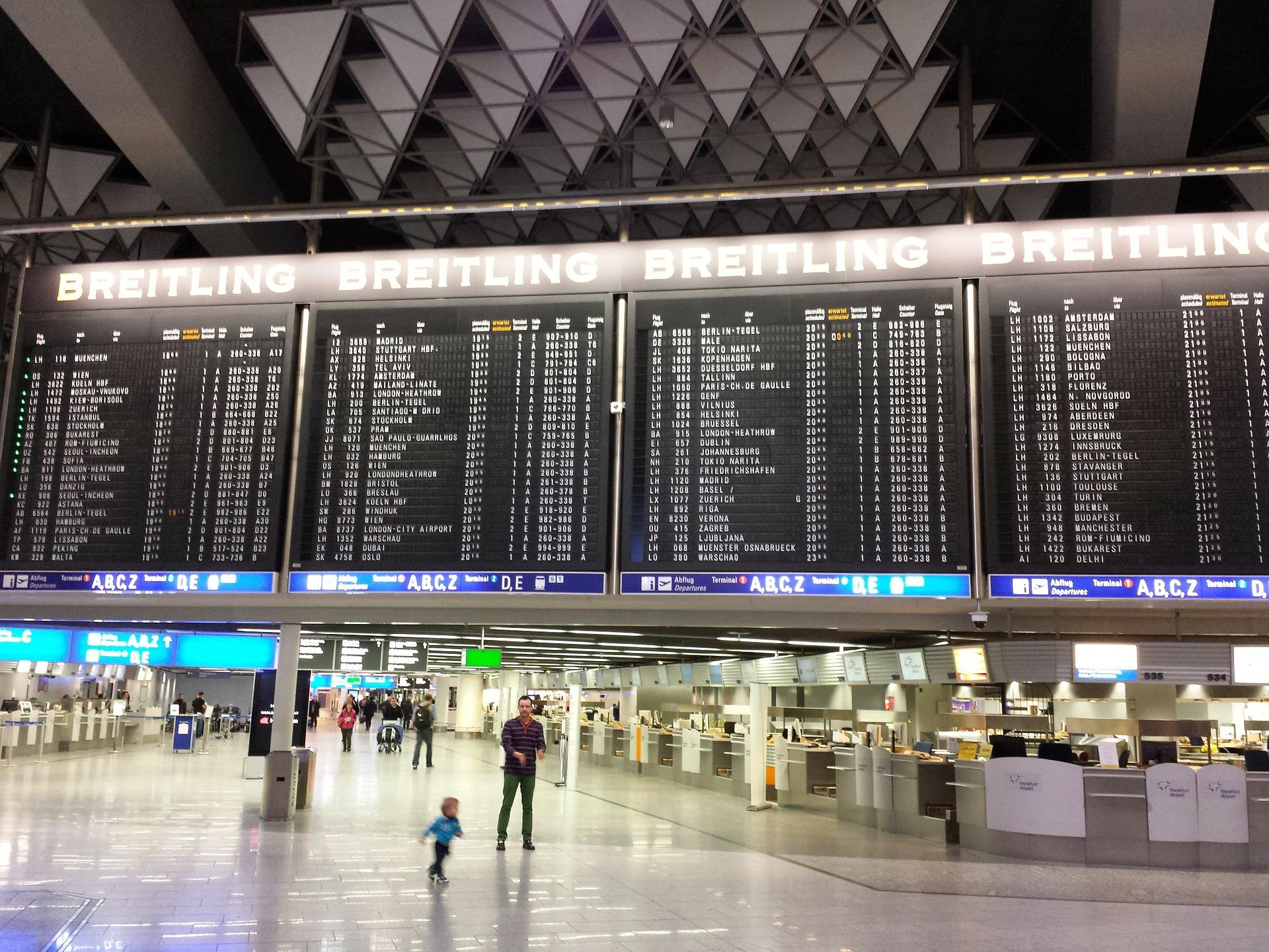 Flüge Frankfurt Flughafen