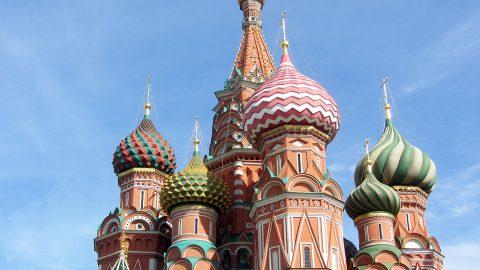 Moskau, Dom, Russland