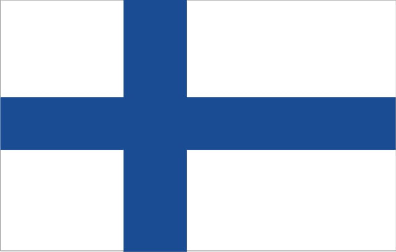 Flug nach Finnland