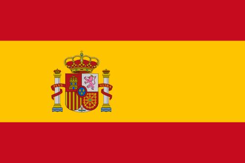 Flug nach Spanien