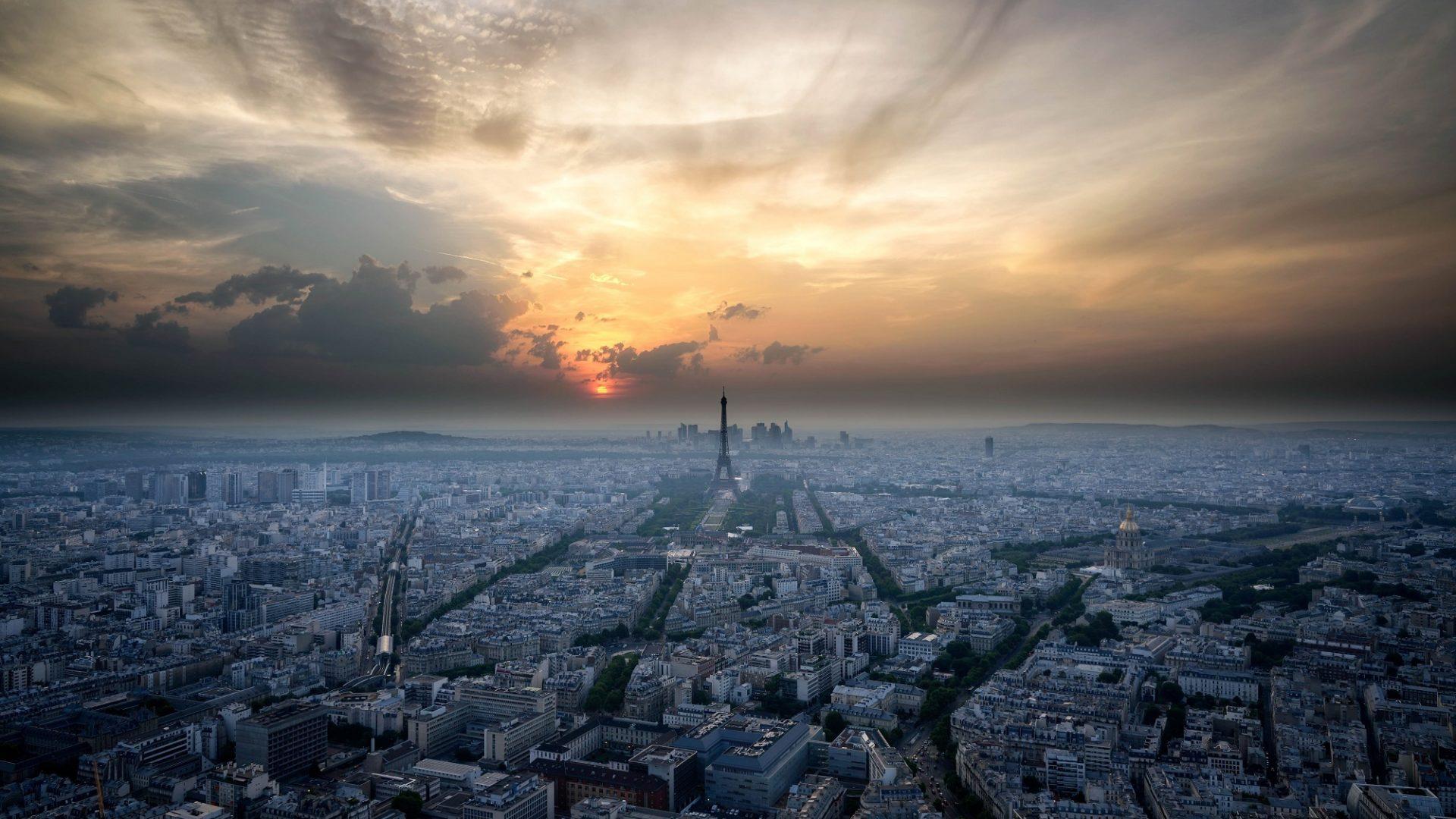 Flug nach Frankreich