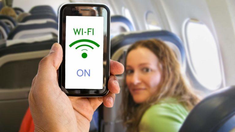 Wifi WLAN Flugzeug