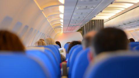 Sitzabstand im Flugzeug