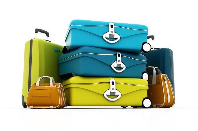 Gepäck am Flughafen