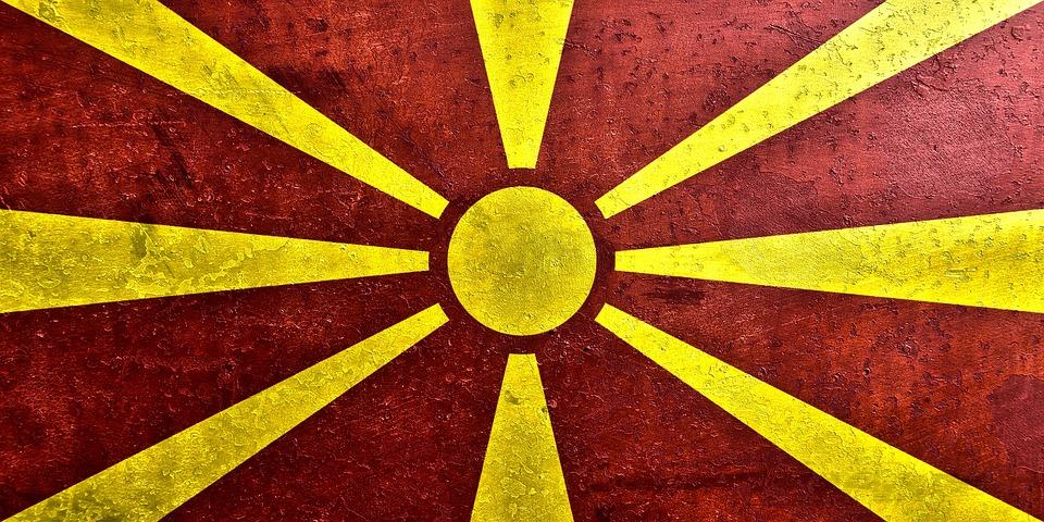 Flug nach Mazedonien