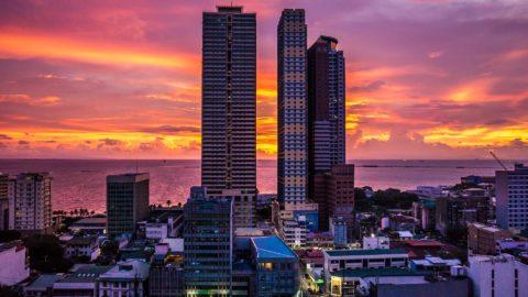 Skyline von Manila