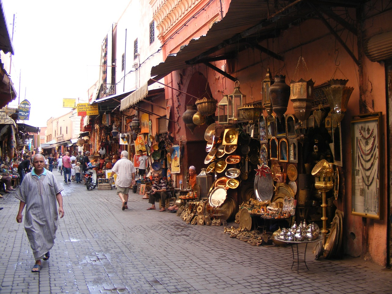 Flüge nach Marrakesch
