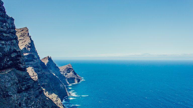Steilküsten im Westen Gran Canarias