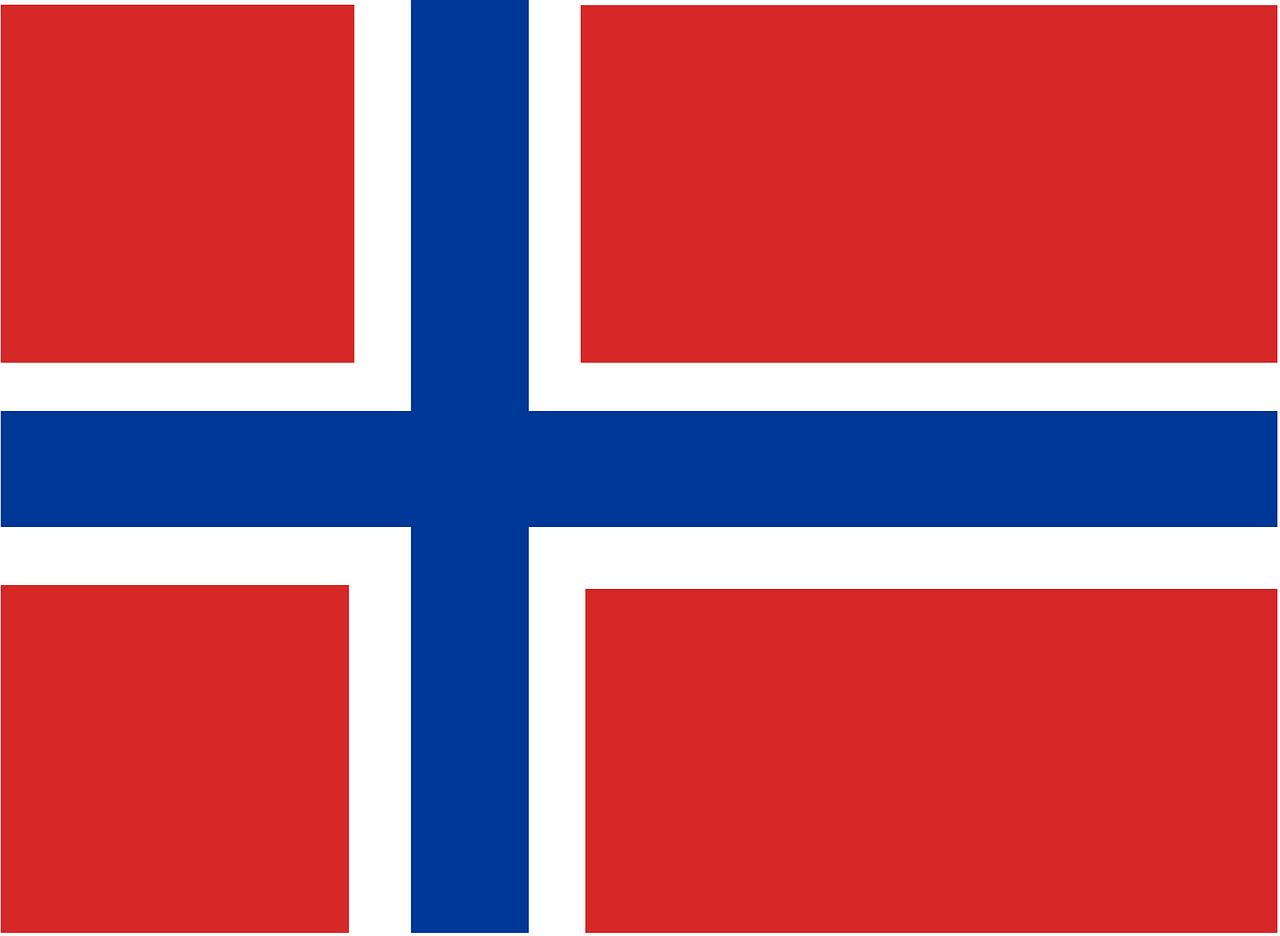 Flug nach Norwegen