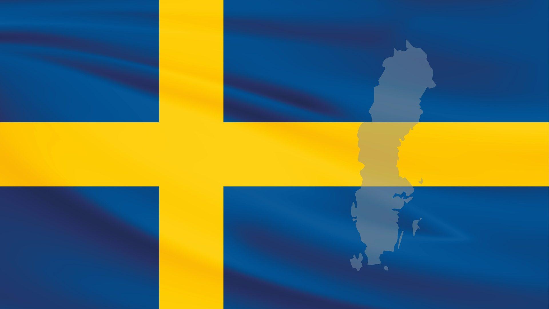 Flug nach Schweden