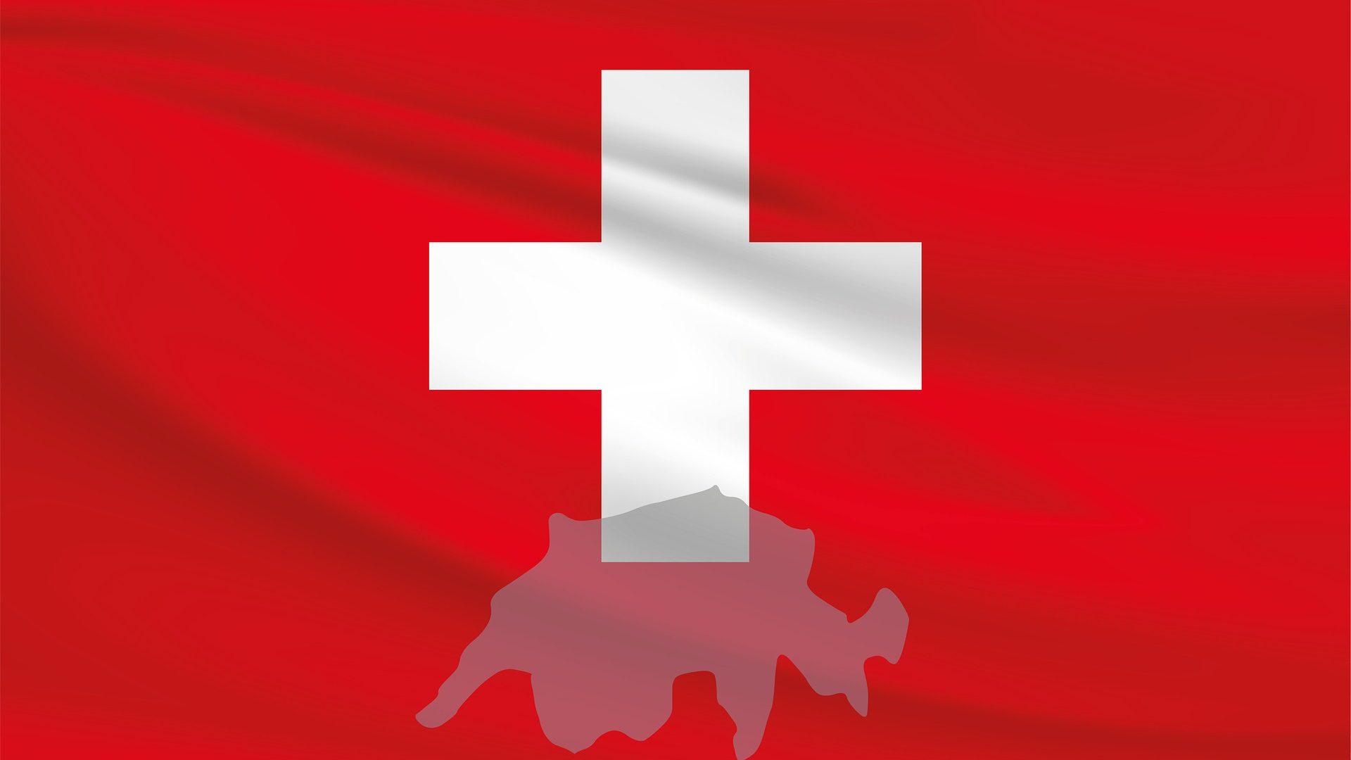 Flug in die Schweiz