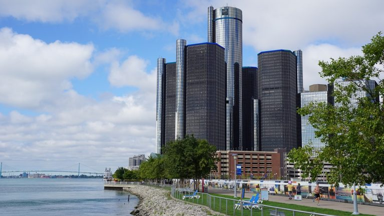 Flüge Detroit, USA